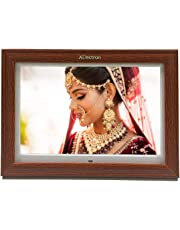 XElectron® 15 inch LED Wooden Digital Photo Frame/Video Frame with 1280×720, 1080P Support Resolution, Plays Images, Video & Music, USB/SD Card Slot, with Remote (Wooden)