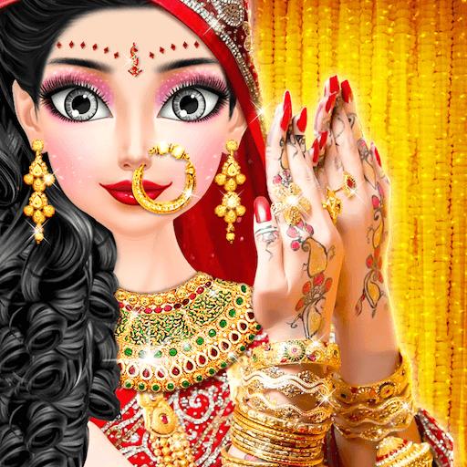 Royal North Indian Wedding Beauty Salon Handart Royal Makeover Wedding Makeup Salon Bridal Beauty Makeover Girls Game Amazon Co Uk Welcome