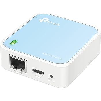 TP-Link Nano Routeur 300 Mbps Wi-FI N, Support Mode Répéteur/Mode Point d'accès/Mode Routeur/Mode Pont/Mode Client, 1 Port Ethernet, 1 Port USB, Idéal pour la Maison et Le Voyage (TL-WR802N)