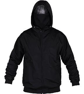 hooligan streetwear zipper jacke rot