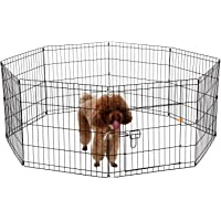 TAIYO PLUSS DISCOVERY® Dog Fencing Play Pen, Size: 24'' Inches, Play Cage with Pen-Exercise Fence for Pups, Rabbit and…