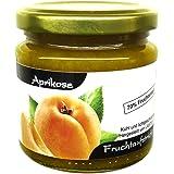 """Xylit Fruchtaufstrich""""Aprikose"""" ohne Zuckerzusatz, nur mit Xylit gesüßt, 70% Fruchtanteil (mehr als Marmeladen), Low Carb, 200 g"""