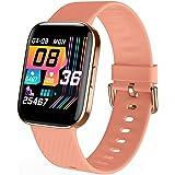 Smartwatch Donna - Orologio Fitness Tracker Uomo Donna Smart Watch Impermeabile Cardiofrequenzimetro da Pedometro Smartband S