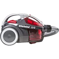 Hoover Whirlwind Bagless Cylinder Vacuum Cleaner, SE71WR01, Lightweight, Compact - Grey/Red