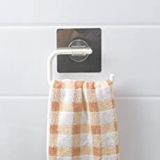 HOKIPO® Magic Sticker Series Self Adhesive Kitchen/Bathroom Plastic Napkin Toilet Paper Holder