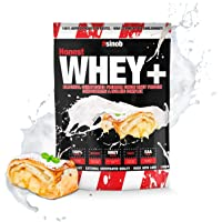 sinob Honest Whey Protein - Apfelstrudel - 1 x 1000 g. 12,5% Isolate Anteil. Instant lösliches Eiweißpulver mit BCAA…
