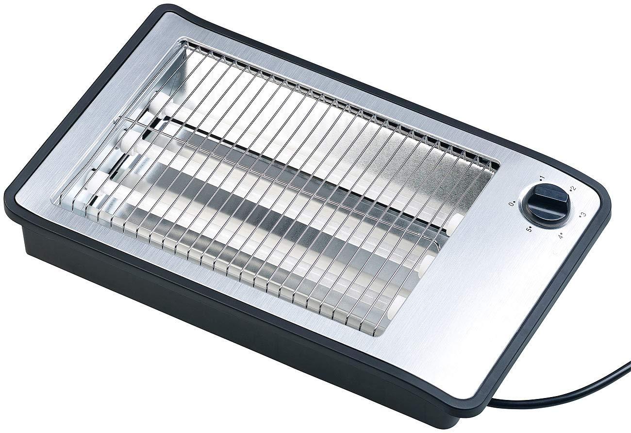 Rosenstein-Shne-Flattoaster-Flachtoaster-fr-bis-zu-4-Brtchen-3-Heizelemente-Timer-600-Watt-flach-Toaster