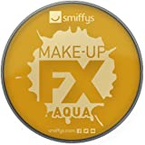 Smiffy's 39143 Make-up FX, Metallic Gold Aqua Face en Body Paint