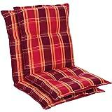 Homeoutfit24 Prato - Coussin de Chaise de Jardin, Fabrique en Europe, Confortable, Resistant aux UV, Housse Douce, 2 pièces -
