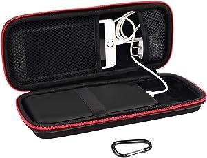Powerbank Tasche Charger Case Kompatibel RAV Power 10000/26800/22000/20100/32000/20000mAh,Anker power core 26800mAh/powercore +26800mAh/26800 PD,Dulla M50000/12000mAh,GETIHU Phone Charger,iMuto 30000mAh by SKYNEW,Schwarz
