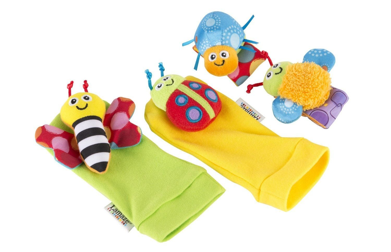 Lamaze Gardenbug Wrist Rattle Footfinder Baby Gift Set 2