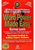 Word Power Made Easy by Norman Lewis (Latest Edition)
