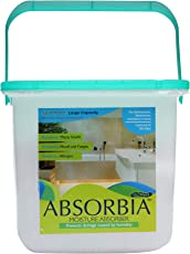 ABSORBIA Moisture Absorber ULTIMATE non-electric room dehumidifier absorbs upto 4 litres of moisture, spill proof