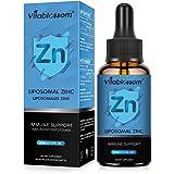 Vitablossom Liposomal Z.inc-tillskott 60ML - Hög absorption, bättre smakprovning | Vegan, icke-GMO, glutenfri