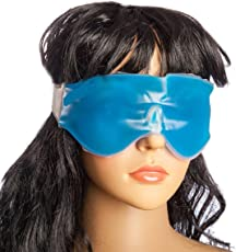 Jishna Relaxing Gel Eye Mask with Stick on Straps
