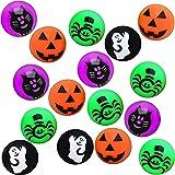 THE TWIDDLERS 85 Palline rimbalzanti a Tema Halloween - Ideali Come regalini per Le Borse da Festa, Dolcetto o Scherzetto, Bo