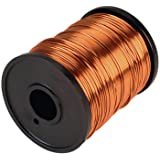 Glopro 50Mtr Enameled Copper Wire 20 Gauge / 0.91mm for Electrical Winding Science Projects Crafts