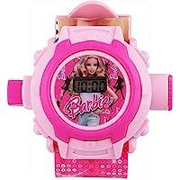 Sunny Rajwal Barbie 24 Images Projector Digital Kid's Watch (Pink)