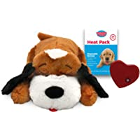 Snuggle Pet Products SmartPetLove Snuggle Puppy Behavioral Aid Toy, Brown and White