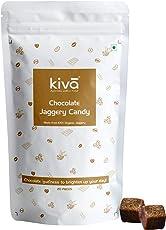 Kiva Natural Gluten Free Organic Chocolate Vegan-Friendly Jaggery Candies, 20x8g
