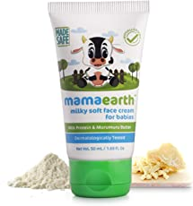 Mamaearth Milky Soft Face Cream for Babies 50mL