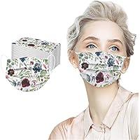 Herren Damen Atmungsaktive Staubschutz Bandana N-T 50 St/ück Unisex Erwachsene Weihnachtsdruck Einmal-Mundschutz 3-lagig Bequeme Outdoor Mundbedeckung
