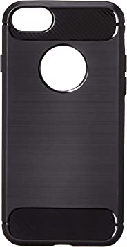 Amazon Brand - Solimo iPhone 8/iPhone 7 Protective Mobile Cover (Soft & Flexible Back case), Black