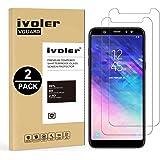 iVoler [2 Pack] Vetro Temperato Compatibile con Samsung Galaxy A6 Plus 2018 / A6+ 2018, Pellicola Protettiva, Protezione per