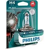 Philips 12342XV+BW X-tremeVision Moto +130% H4 lampada fari per moto