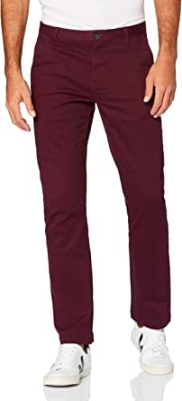 MERAKI Men's Cotton Slim Fit Chino Trousers
