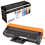 ICOMJET Compatible Toner Cartridge Replacement for D101S MLT-D101S Use with Samsung ML-2161 ML-2166w ML-2160 ML-2165w SCX...