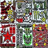 6 bogen Aufkleber Zt-t selbstklebend Stickers rockstar energy drink BMX moto-cross decals Abziehbilder MX