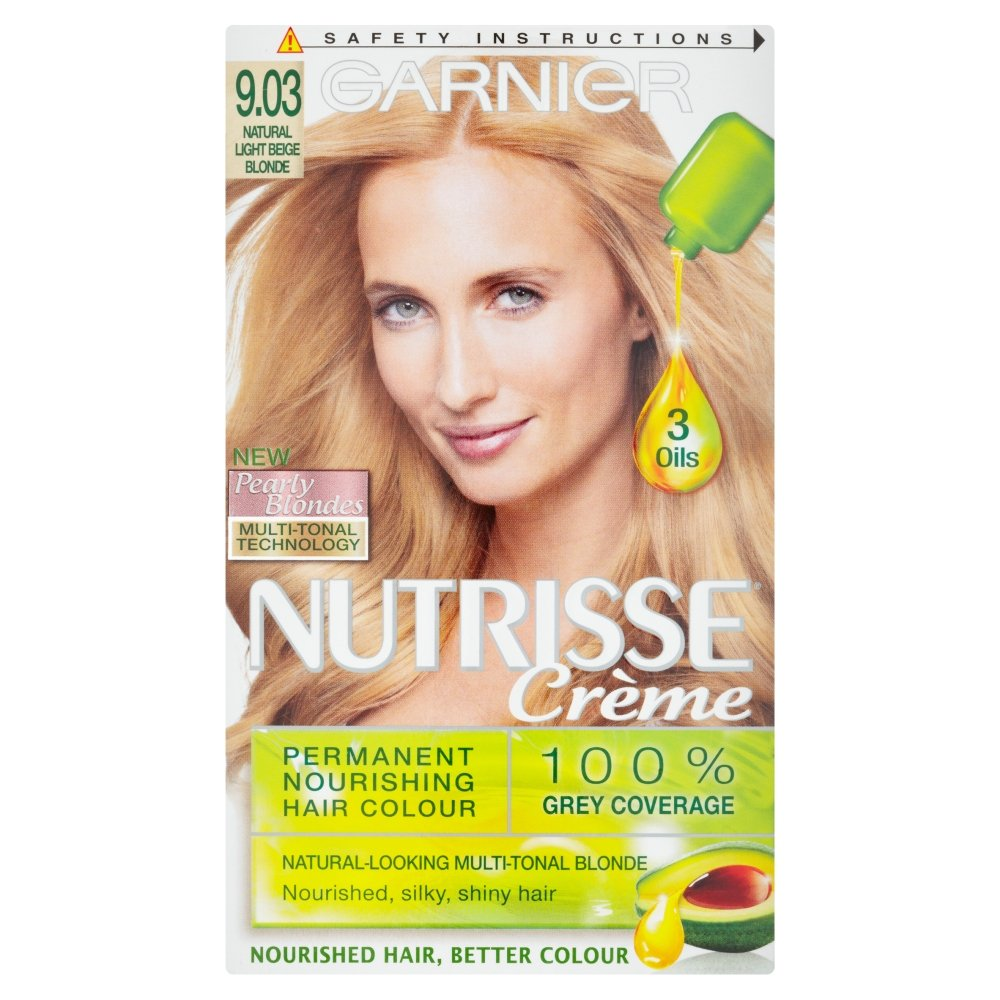 Garnier Nutrisse Ultra Color 903 Natural Light Beige Blonde