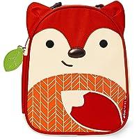 Skip Hop Zoo Lunchie Mini Vespertasche für den Kindergarten, isoliert, mit Namensschild, mehrfarbig, Fuchs Ferguson