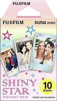 Fujifilm Instax Mini Shiny Star Instant Film, Multicolor