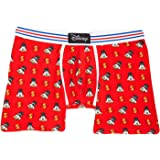 Disney Men's Character Boxer Brief Sleep Shorts - Mickey Mouse, Donald Duck & More!