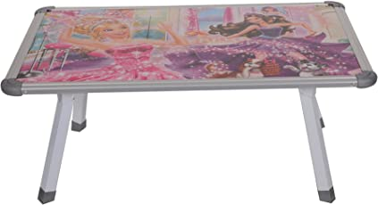 Tender Care Baby Kids Foldable Eating and Study Multipurpose Bed Table (60cm X 40cm_ Multi- Colour)