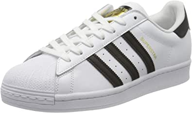 adidas EG4958, Scarpe da Ginnastica Uomo, Bianco (Ftwr White/Core Black/Ftwr White), 44 2/3