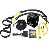 TRX Sangle de suspension Noir/Jaune