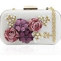J&F Damen Tasche Handtasche Party Clutch Bag Hochzeit Abend Kettentasche Umhängetaschen