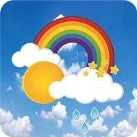 Beauty Weather Clock Widget