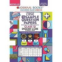 Oswaal CBSE Sample Question Paper Class 12 English Core Book (For Term I Nov-Dec 2021 Exam)