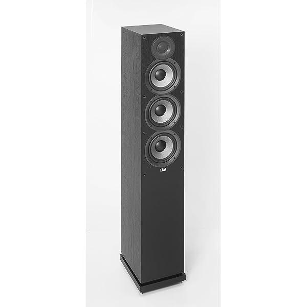 Elac Debut F5 2 Standlautsprecher Schwarz Dekor Audio Hifi