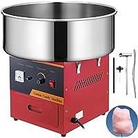 SucceBuy Machine à Barbe à Papa Professionnelle Cotton Candy Machine Idéale pour Anniversaires et Festivals (rouge)