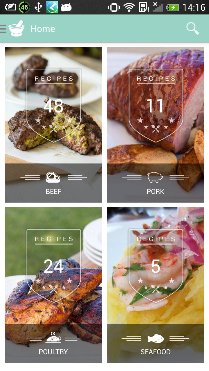 Caveman Feast - Paleo Recipes Capture d'écran