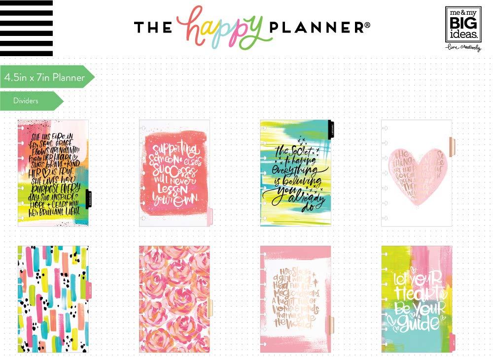Calendario Mese Giugno 2020.The Happy Planner Mini 12 Mesi Data Luglio 2019 Giugno 2020 Scegli Di Brillare