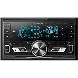 Kenwood DPX-M3100BT Doppel-DIN Digital Media Receiver mit Bluetooth-Freisprecheinrichtung und iPod-Steuerung schwarz