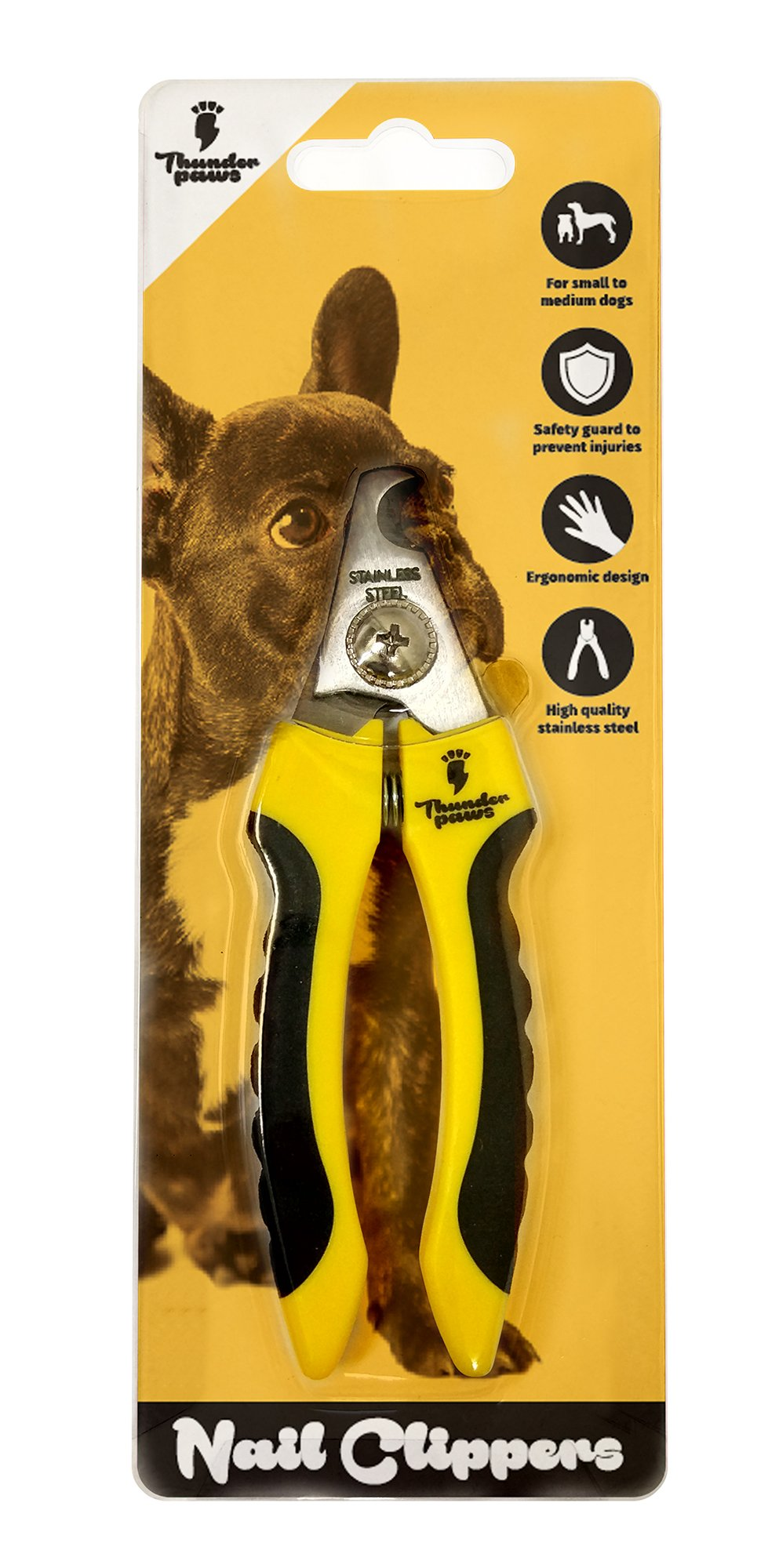 Thunderpaws Professional-Grade Dog Nail Clippers with Protective Guard, Safety Lock and Nail File - Suitable for Medium and Large Breeds 3