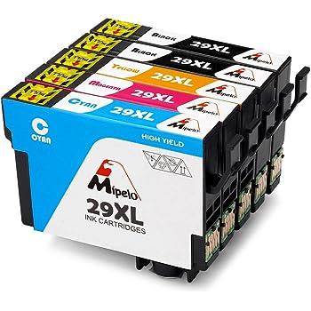 mipelo compatible epson 29 29xl cartouches d 39 encre grande capacit utilis dans epson. Black Bedroom Furniture Sets. Home Design Ideas