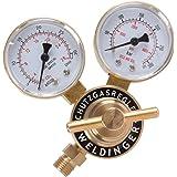 WELDINGER MINI Druckminderer für Schutzgas Argon/Co² Mehrwegflaschen (Druckregler)